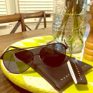 Quay Australia Black sunglasses 😎